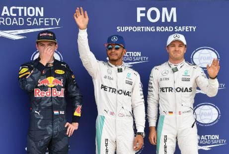F1: Lewis Hamilton marca a pole em Silverstone