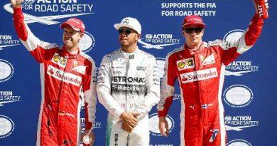 F1: Lewis Hamilton marca a pole na Itália