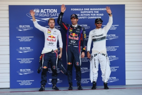 F1: Mark Webber marca a pole no Japão