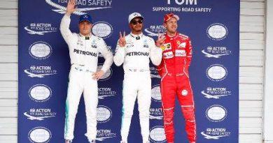 F1: Lewis Hamiton marca a pole-position para o GP do Japão