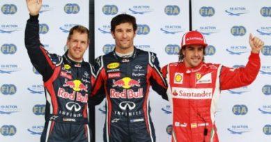 F1: Mark Webber marca a pole em Silverstone