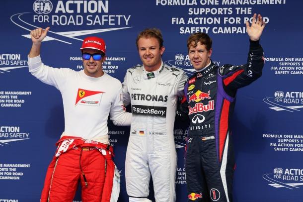 F1: Nico Rosberg marca a pole no Bahrein