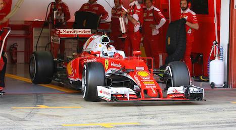F1: Sebastian Vettel encerra testes em primeiro