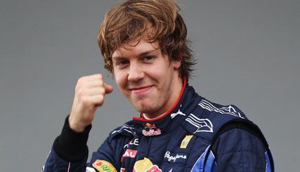 F1: Sebastian Vettel marca a segunda pole-position consecutiva