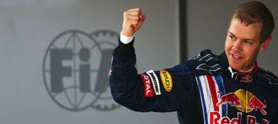 F1: Sebastian Vettel faz a pole-position para o GP da China