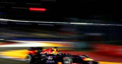 F1: Sebastian Vettel é o mais rápido em Cingapura