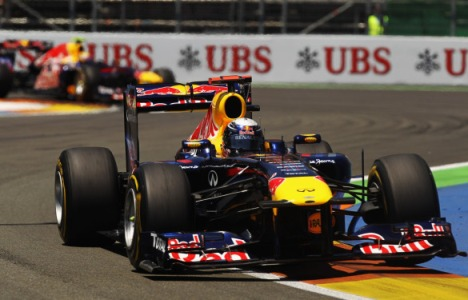 F1: Em Valência Sebastian Vettel vence a sexta no ano