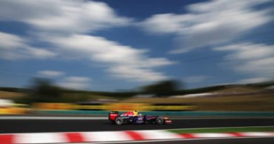 F1: Sebastian Vettel é o mais rápido na Hungria