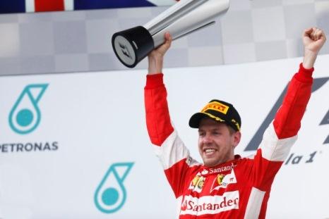 F1: Sebastian Vettel vence GP da Malásia