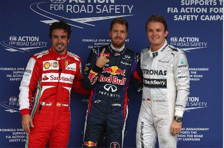 F1: Sebastian Vettel marca a pole no Brasil