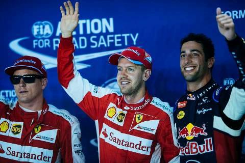 F1: Vettel dá o sinal verde para ter Ricciardo como companheiro na Ferrari