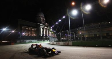 F1: Sebastian Vettel marca a pole em Cingapura
