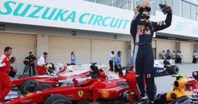 F1: Em treino cheio de acidentes, Sebastian Vettel conquista a pole no Japão