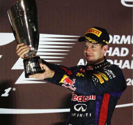 F1: Sebastian Vettel vence em Abu Dhabi