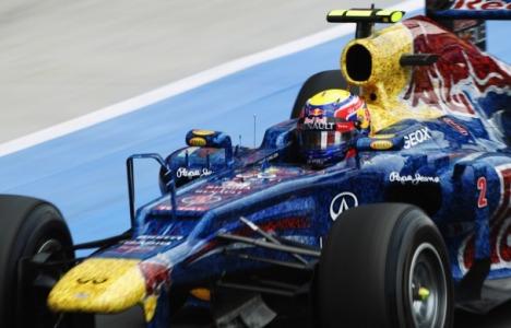 F1: Mark Webber vence GP da Inglaterra