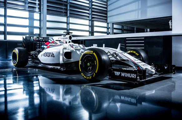 F1: Williams lança o FW38