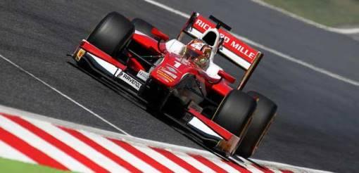Fórmula-2: Charles Leclerc e Nobuharu Matsushita vencem em Barcelona