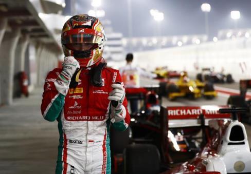 Fórmula 2: Charles Leclerc alinha na pole em Sakhir