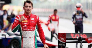 F2: Charles Leclerc marca a pole em Spa-Francorchamps