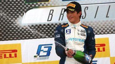 F3 Brasil: Pedro Piquet vence a primeira corrida do ano em Curitiba
