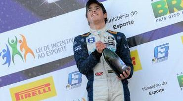 F3 Brasil: Pedro Piquet se recupera e vence corrida 2 no Velopark