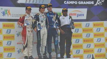 F3 Brasil: Piquet ignora pista molhada e vence em Campo Grande