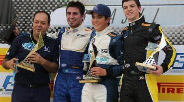F3 Brasil: Com a benção do pai: Piquet vence em Tarumã