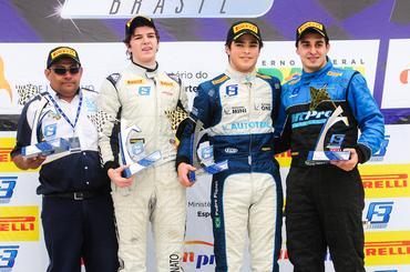 F3 Brasil: Piquet alcança Fortunato para fechar fatura 100% em Curitiba