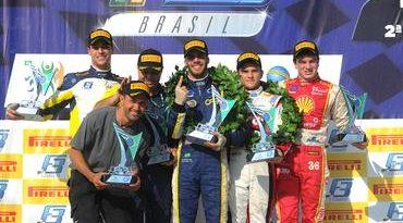 F3 Brasil: Samaia dá o troco e vence corrida 2 em Curitiba