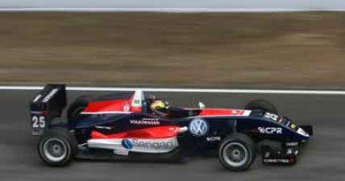 F3 Européia: Piloto termina novamente entre os oito primeiros