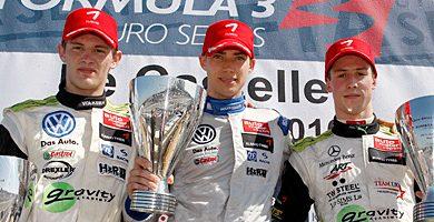 F3 Europeia: Edoardo Mortara e Alexander Sims vencem na abertura da temporada