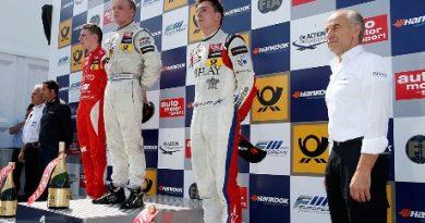 FIA F3 European: Três vencedores diferentes em Norisring