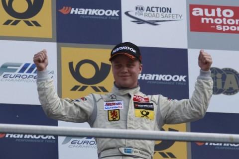 FIA F3 European: Felix Rosenqvist vence as três provas na Áustria