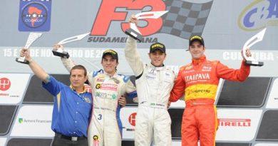 F3 Sulamericana: Nelson Merlo cinquista o pódio em Curitiba, e mantém liderança do campeonato. Decisão será em Interlagos