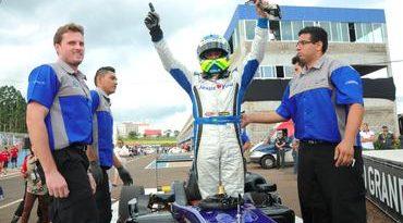 F3 Sul-Americana: Felipe Guimarães ganha pela 12ª vez e poder ser campeão