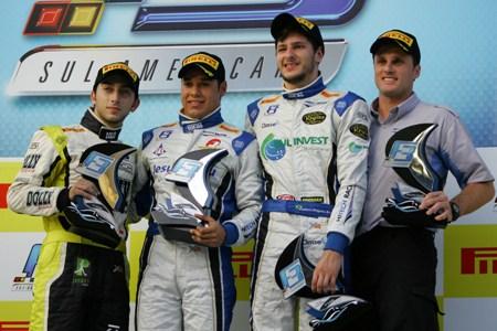 F3 Sul-Americana: Felipe Guimarães vence e pula na frente no campeonato