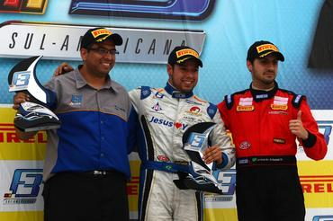 F-3 Sul-Americana: Felipe Guimarães ganha em Curitiba e dá show na Fórmula 3