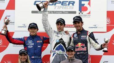F3 Inglesa: James Calado e Gabriel Dias vencem em Silverstone