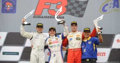 F3 Sulamericana: Denis Navarro domina abertura da temporada