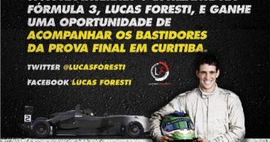 F3 Sulamericana: Lucas Foresti levará um fã para a prova final do campeonato