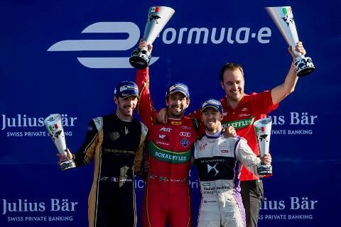 Formula-E: Lucas di Grassi vence no México