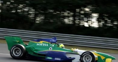 A1 GP: Brasil estréia nova pintura em Silverstone