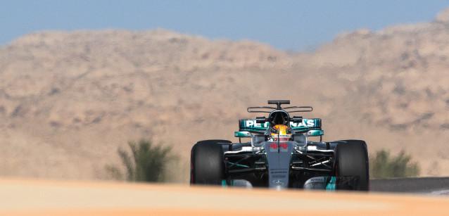 F1: Lewis Hamilton lidera testes no Bahrein