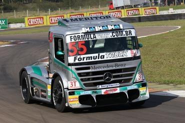 Truck: Salustiano larga na pole da Fórmula Truck no Velopark