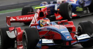 GP2 Series: Bruno Senna sai do fundo do grid para o 5º lugar na França
