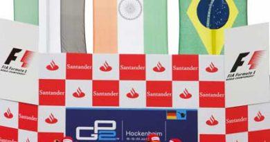 Bruno Senna volta a subir ao pódio na Alemanha