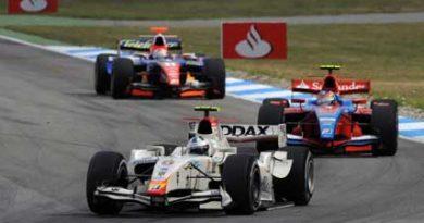 GP2 Series: Defeito no motor rouba de Lucas chance de brigar pela primeira vitória