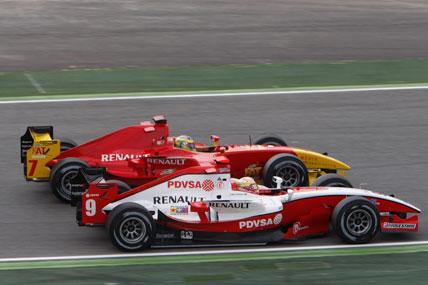 GP2 Series: Com super largada, Lucas ainda enfrenta problemas