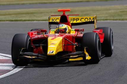 GP2 Series: Em dobradinha brasileira, Lucas avança no campeonato