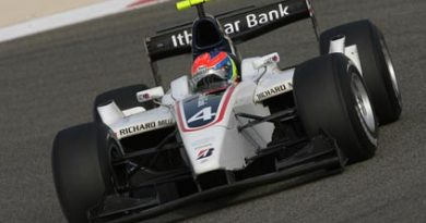 GP2 Asiática: Romain Grosjean marca a pole no Bahrein